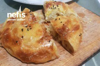 El Açması Gül Böreği (Patatesli) Tarifi