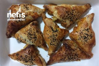 Peynirli Kaşarlı Milföy Börek Tarifi