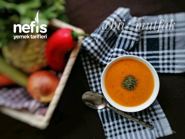 Tam Bir Vitamin Deposu Sebzeli Çorba