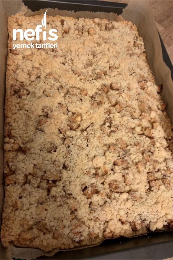 Apfelstreusel Kuchen/elmali Kek