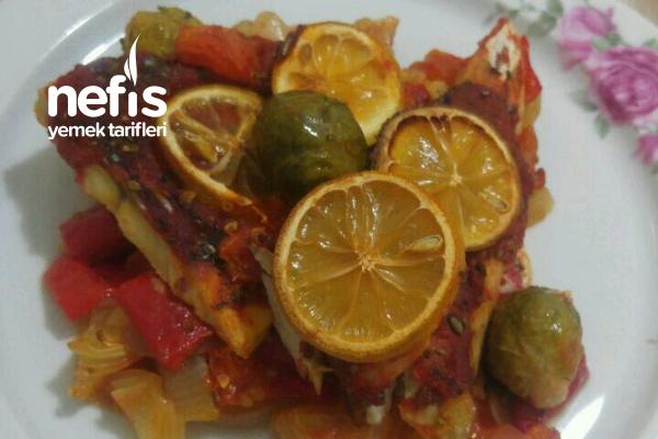 Bol Sebzeli Fırında Balık Tarifi