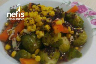 Brüksel Lahanalı Kış Salatası Tarifi