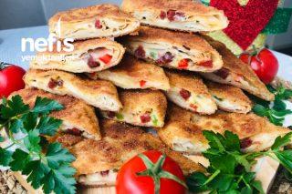 Çıtır Çıtır Pizza Börek Tarifi