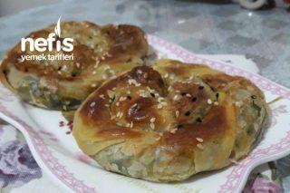 El Açması Ispanaklı Çıtır Gül Böreği Tarifi