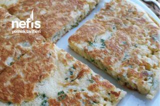 Peynirli Omlet (Kahvaltıda Börek Tadında) Tarifi