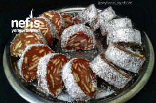 Rulo Mozaik Pasta (Çok Ekonomik Çok Lezzetli) Tarifi