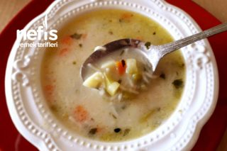 Sebzeli Terbiyeli Tel Şehriye Çorbası (Vitaminli Çok Lezzetli) Tarifi