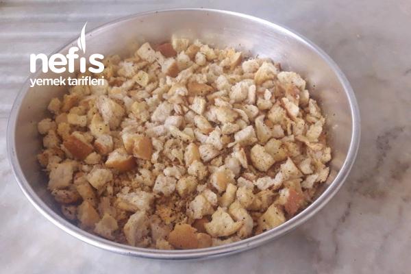 Baharatlı Ve Sade Kruton Ekmek (En Az 6 Ay Dayanıklı) Tarifi