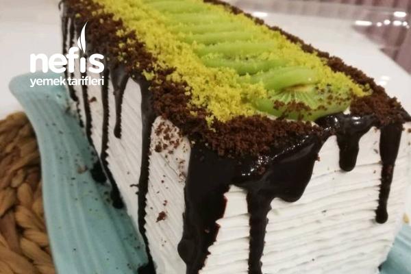 Çikolata Soslu Baton Pasta Tarifi