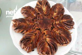 Çikolatalı Çiçek Çörek Tarifi