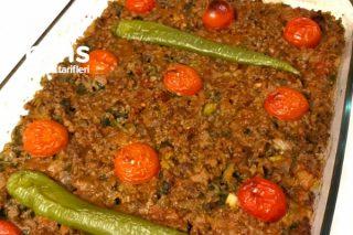 Fırında Patlıcan Musakka (Nefis İç Harcı İle) Tarifi