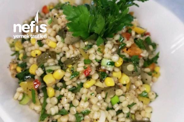 Kuskus Salatası (Videolu) Tarifi