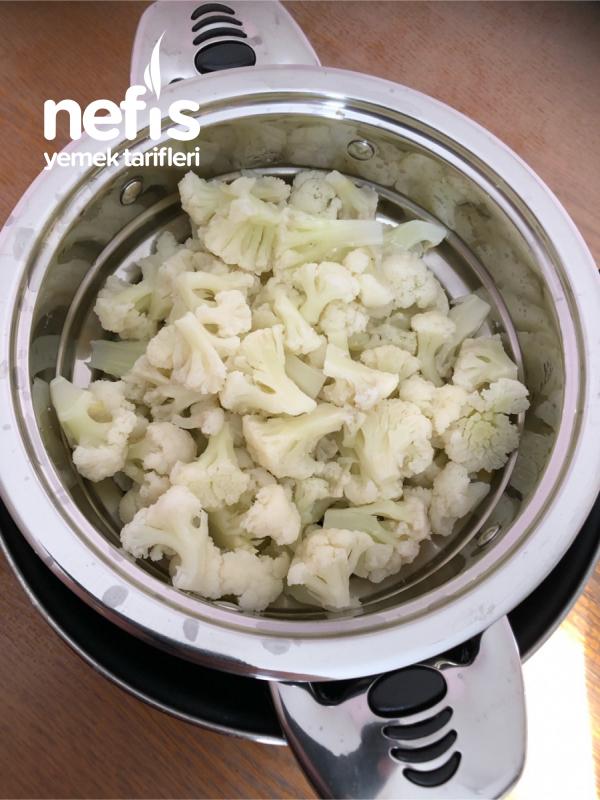 yogurtlu karnibahar salatasi