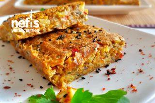 Bol Sebzeli Muhteşem Kahvaltı Keki Tarifi
