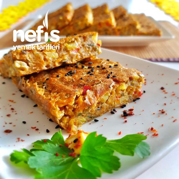 Bol Sebzeli Muhteşem Kahvaltı Keki