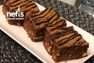 Fındıklı Brownie Tadında Kek (Tam Ölçülü) Tarifi