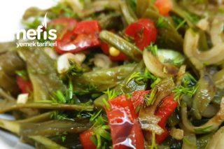 Kurutulmuş Yeşil Fasülye Salatası Tarifi