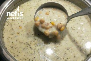Mısırlı Nohutlu Buğdaylı Yoğurt Çorbası Tarifi