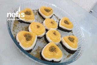 Portakallı Kakaolu Sade İrmikli Şekilli Pastalar (Videolu) Tarifi