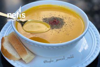 Bal Kabağı Çorbası ( Muhteşem Ötesi) Tarifi