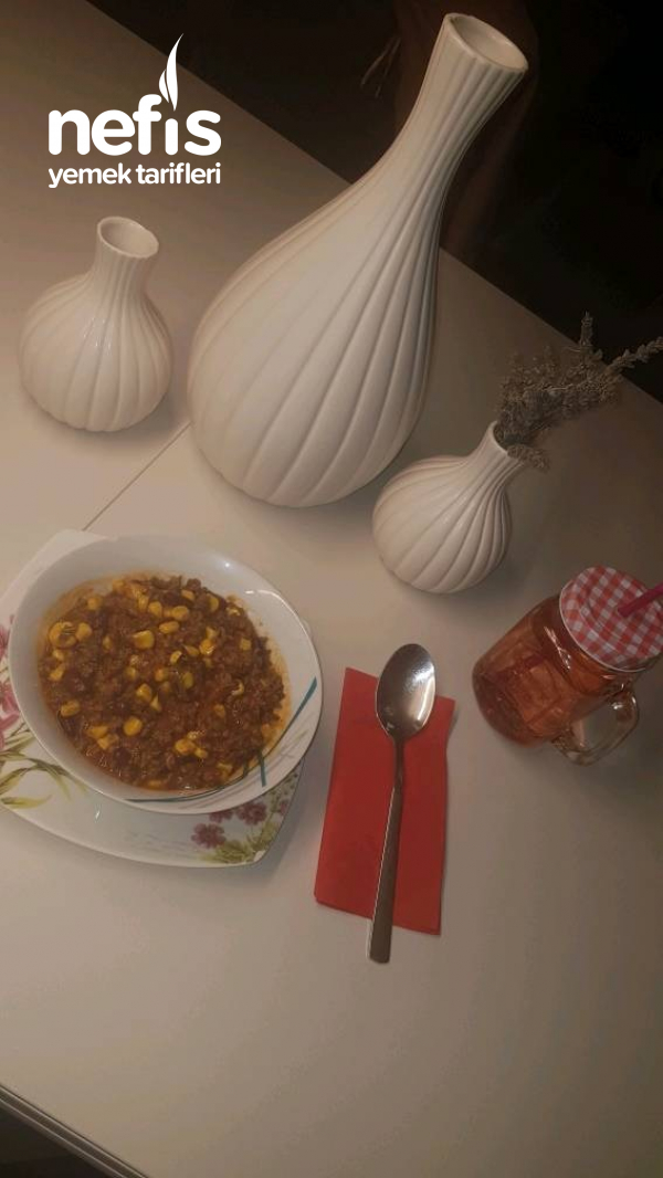Chili Con Carne (Meksika Yemeği)