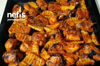 Kekikli Fırında Tavuk Ve Patates Tarifi