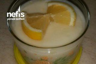 Limonlu Muhallebi (Limon Severler Bayılacak) Tarifi
