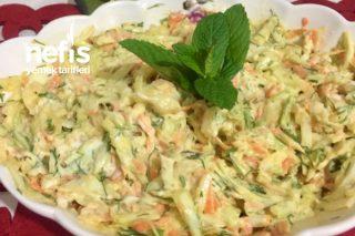 Orijinal Coleslaw Salatası Tarifi