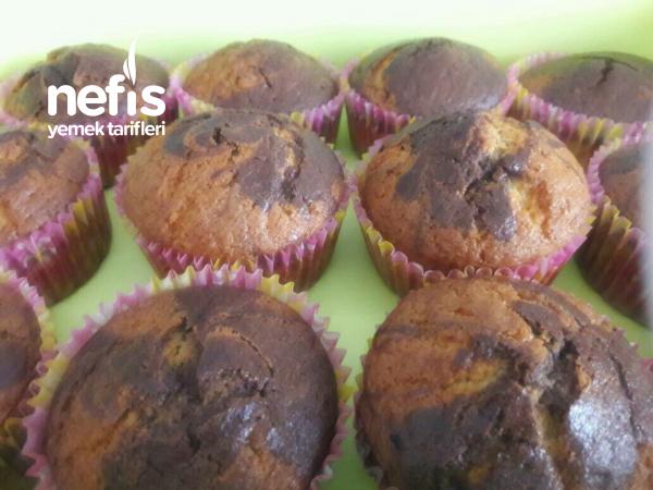 Damla Çikolatalı Cupcake (12 adet)