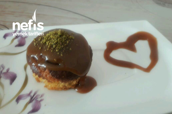 Damla Çikolatalı Cupcake (12 Adet) Tarifi