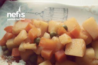Garnitürlü Patates Yemeği Tarifi