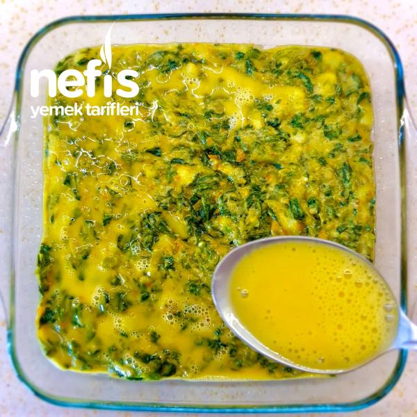 Ispanak Graten (Havuç, Patates ve Yumurtalı)