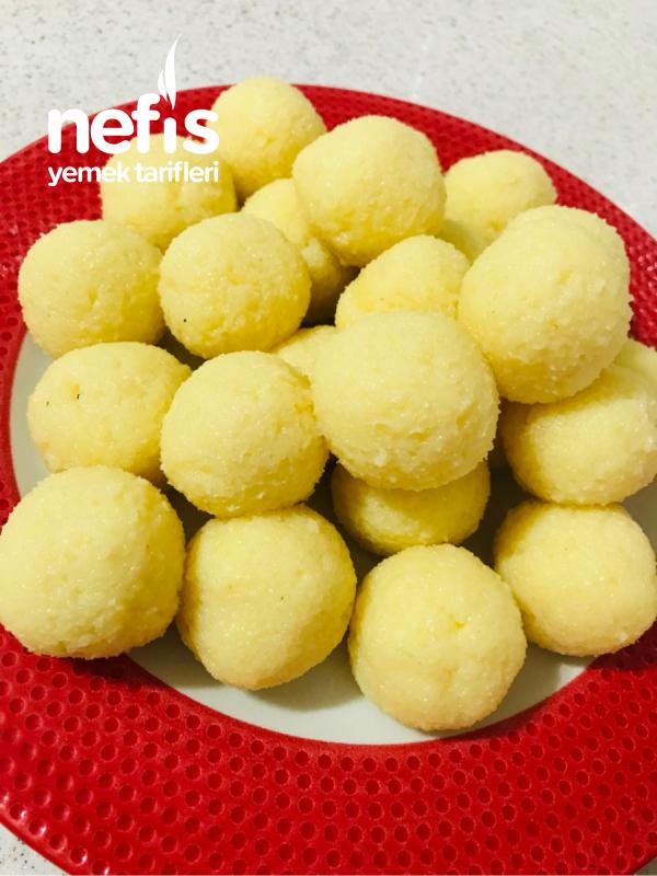 Muzlu İrmik Topları(lezzet Bombası)