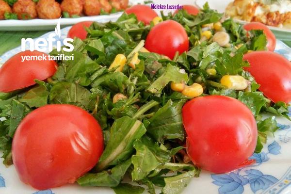 Nefis Roka Salatası (Et ve Balık Yemeklerinin Yanına) Tarifi