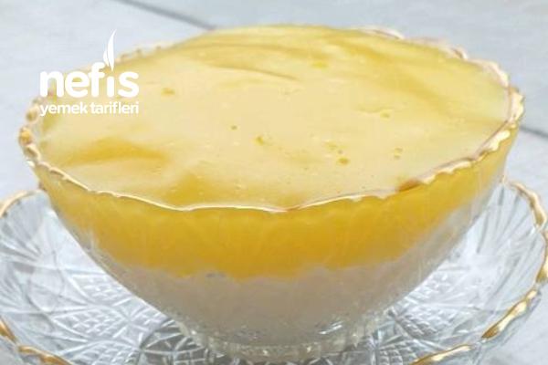 Portakalı Muhallebi Tarifi