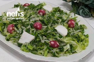 Mevsim Yeşillikleriyle Enfes Turp Salatası Tarifi