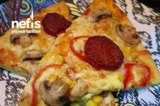 Mükemmel Hamuruyla Enfes Pizza Tarifi