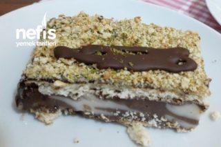 Ebruli Borcam Pastası (Şahane Lezzet) Tarifi