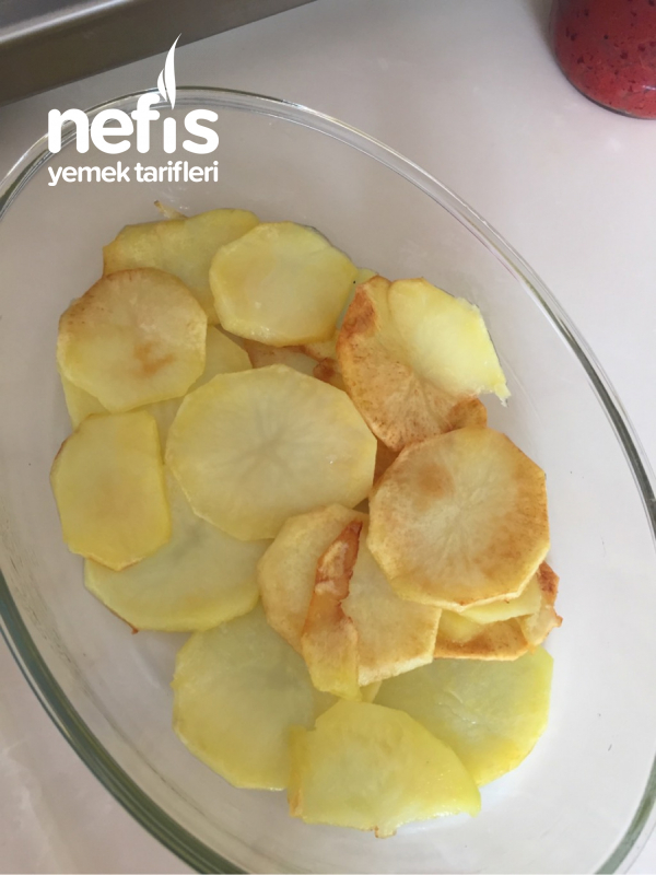Kıymalı Fırın Patates