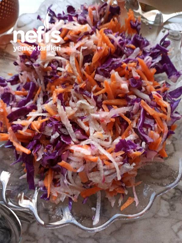 Ferahlatan Kış Salatası Tarifi