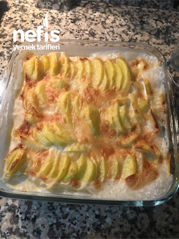 Kremalı Fırında Patates