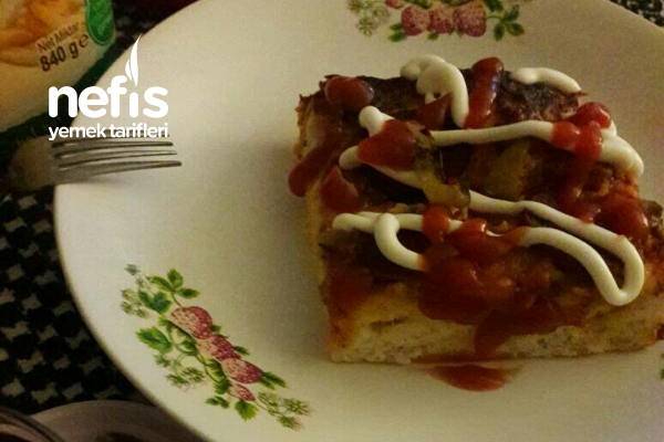 Mayalı Tepsi Pizzam Tarifi