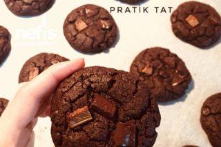 Cookies (Brownie Tadında) Tarifi
