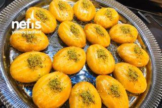 Karamelize Şekerpare (Kıyır Kıyır) Tarifi
