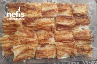 Böreklik Yufkadan Peynirli Börek Tarifi