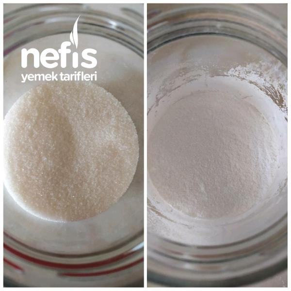 Blender İle Evde Pudra Şekeri Yapımı (Püf Noktaları)