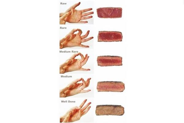 et pişirme dereceleri
