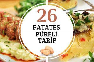 Patates Püreli 26 Çeşit Resimli Tarif Tarifi