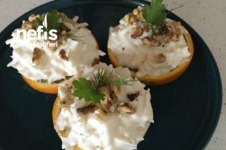 Portakal Sunumuyla Kereviz Salatası Tarifi