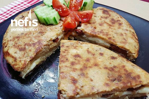 Tavada Bayat Ekmek Böreği (Yazılı Ve Sesli Tarif Videolu)